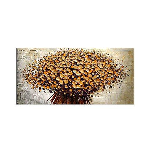 Decdeal - Flores, Cuadro Pintura al Óleo de...