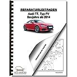 Audi TT, Typ 8S (14>) Heizung, Lüftung, Klimaanlage - Reparaturanleitung