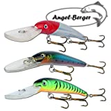 Angel Berger 3 Minnow Deep Diving Wobbler