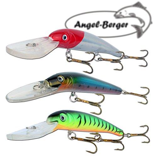 Angel Berger 3 Minnow Deep Diving Wobbler