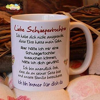 Kaffeebecher ~ Tasse -Liebe Schwiegertochter -ich~ Weihnachten Geschenk