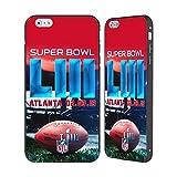 Officiel NFL Stade De Mercedes-Benz Atlanta 2 2019 Super Bowl LIII Noir Étui Coque...