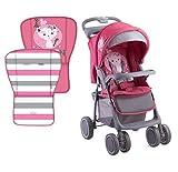Lorelli Foxy - Carrito/silla de paseo para ciudad, color rosa