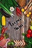 Journal Notebook. Recipe Cookbook Blank Book (Paperback)