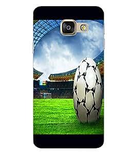 ColourCraft Football Design Back Case Cover for SAMSUNG GALAXY A9 PRO (2016)