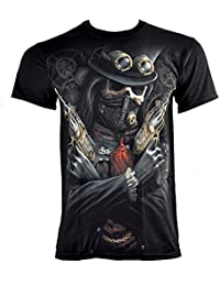 Spiral Direct Steampunk Bandit T Shirt (Noir)