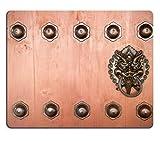 Die besten Liili Schreibtische - Mousepads Aufhängen Türklopfer Metall in Kloster Tempel Hong Bewertungen