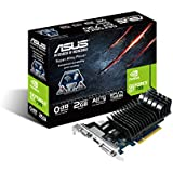 Asus Nvidia GT730 Scheda Video PCIe, Silent 2GB LP, Nero