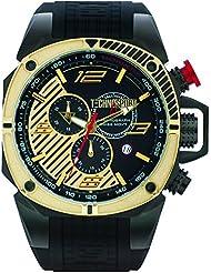 technosport Hombre Chrono Formula Oro–Reloj