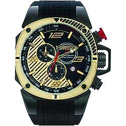 TechnoSport Herren Chrono Uhr - FORMULA gold