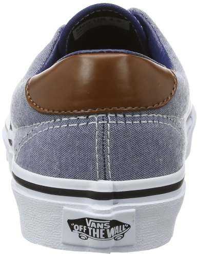 Vans U ERA 59  (CANVAS   CHAMB, Sneaker unisex adulto Azul (Canvas Chamb)