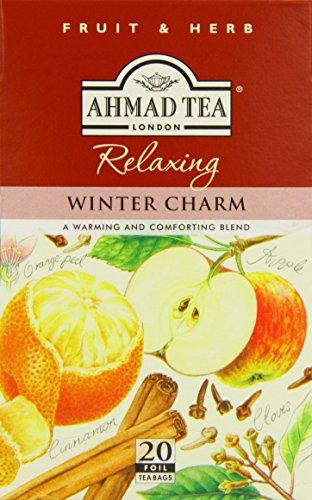 Inglés Fruit & Infusiones de Hierbas, Winter Charm Fruit relajante y té de hierbas