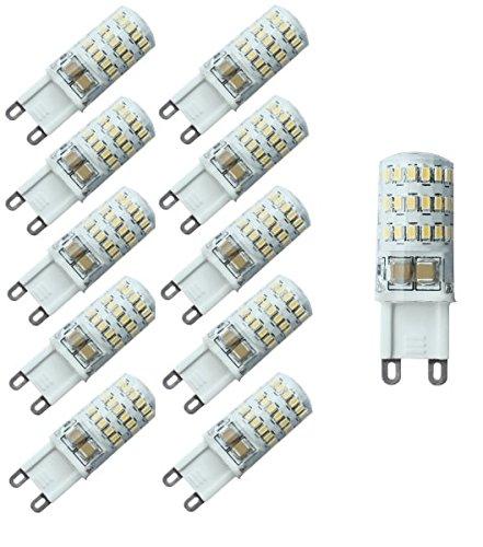 Lumilife LED 4Watt G9Strahler–ersetzt 25W Halogenlampen–Großhandel Pack–Versand aus Großbritannien–100–Warmweiß–Energieeffizienzklasse A +