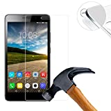 Lusee 2 x Pack Panzerglasfolie Schutzfolie für Lenovo PHAB Plus PB1-770N 6.8 Zoll Bildschirmschutz Tempered Glass Folie Screen Protector Panzerfolie Glasfolie 0,3 mm 9H Clear 2.5D