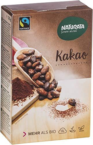 Naturata Bio Kakao, schwach entölt, 20-22 % (2 x 125 gr)