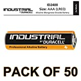 Duracell 50 X AAA Industrial Alkaline Battery - Orange