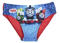 Boys Thomas The Tank Engine Swimming Trunks Blue / Red 4