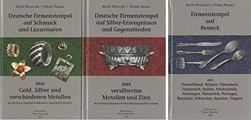 Deutsche Firmenstempel auf Gold- und Silberwaren