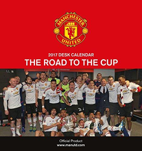 Manchester United Official 2017 Desk Easel Calendar – Month To View Desk Calendar 2017
