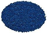 Haquoss Kies ceramizzata, 0.1–0.3mm, blau fein
