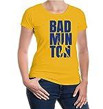 Girlie T-Shirt Badminton Type-XXL-Sunflower-Royal