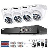 1080P Überwachungskamera System ANNKE 4CH 3MP TVI DVR ohne Festplatte und 4 Außen