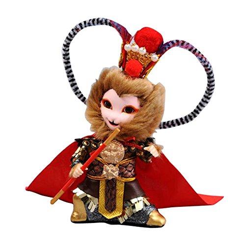 Chinesische Stil Peking Opera Menschen Puppen Dekorationen-Sonne Wukong