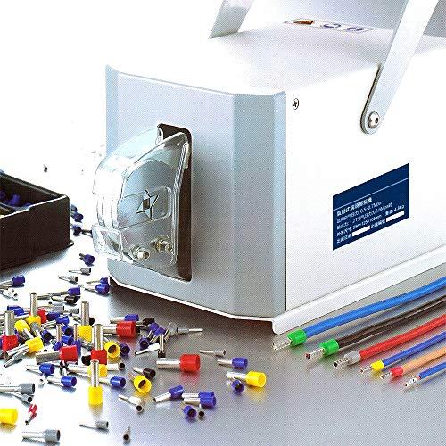 YANTOOL Pneumatische Crimpzange,Rohrklemmen-Crimpmaschine,0,08-10 Vierkant-Crimpzangen