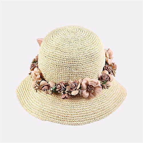 YMFIE Onorevoli Sunscreen Parasole Pieghevole Hat Outdoor Beach Resort Sun Sun Sun Hat Cappello di Paglia Fisherman Hat | Materiali Di Qualità Superiore  | a prezzi accessibili  3ca847