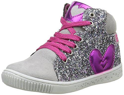 Agatha Ruiz de la PradaFrisco - Sneaker Bambina , Argento (Argent (B Gris/Plata)), 29