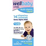 Vitabiotics WellKid Baby and Infant Liquid from 4 Months to 4 Years, 150ml