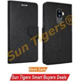 Lenovo K8 Note FLIP COVER Imported Mercury Goospery Fancy Diary Wallet Flip Case Back Cover For Lenovo K8 Note [BLACK] By Sun Tigers®