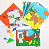 Little Scribblers Tangranimals Busy Bag - Learning Resources and Educational kids activity packs, working on motor skills, hand-eye coordination and numeracy in a fun and engaging way