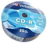 Verbatim CD-R 80 700MB - Confezione da 25 immagine