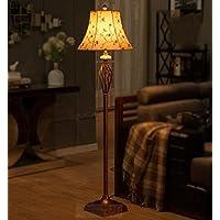 LightSei- Wohnzimmer Schlafzimmer Nacht Vertikale Lichter Dorf Retro einfache europäische - Style Stehlampe preisvergleich bei billige-tabletten.eu