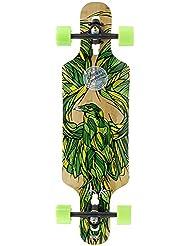 "Mindless Raven III X Kook talismán verde Longboard–34"""