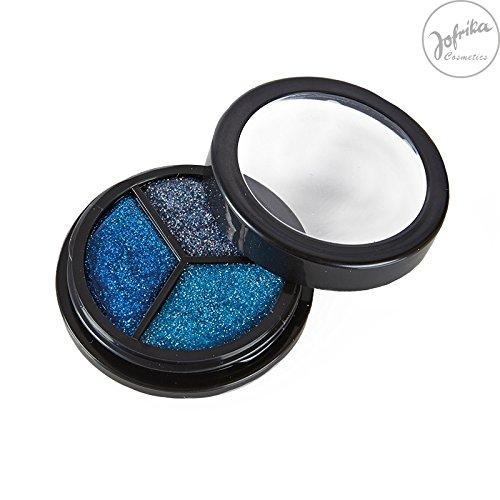 Rubies - 712108 - Trio Glitter ICE Edition * Jofrika Cosmetics * Blautöne und Silber * Schminke/Body Make up (Make-up-trio)