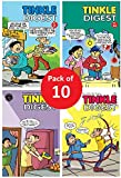 Best of Tinkle Single Digest Comic Books in English | Pack of 10 | Tales from Suppandi and Tantri Mantri inside…
