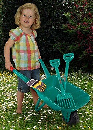 Theo Klein 2752 - BOSCH Gartenset mit Schubkarre, 4-teilig, Spielzeug - 2