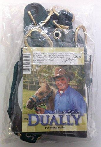 Monty Roberts Dually Headcollar (Extra Small - Green) 3