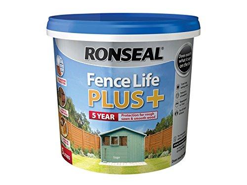 ronseal-rslflppsa5l-5-litre-fence-life-plus-paint-sage
