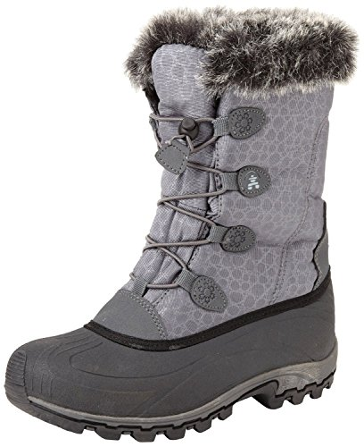 Kamik Women's Momentum Snow Boot (9.5 B(M) US, Charcoal) - Momentum Snow