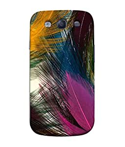 PrintVisa Designer Back Case Cover for Samsung Galaxy S3 Neo I9300I :: Samsung I9300I Galaxy S3 Neo :: Samsung Galaxy S Iii Neo+ I9300I :: Samsung Galaxy S3 Neo Plus (Cock Crane Crow Kingfisher Cuckoo Dove Beautiful Duck)
