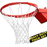 SANR Tricolor Basketball Net for Practice Without Ring - Pack of 1