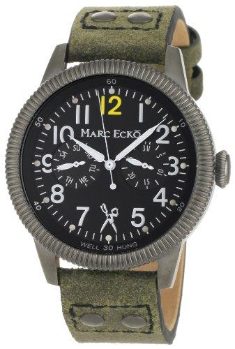 Marc Ecko Reloj Análogo clásico para Hombre de Cuarzo con Correa en Cuero E14541G1