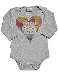bbbaef16d8313 Spoilt Rotten SR - J aime Maman   Papa Body bébé - Vêtements bébé - Coton  Bio - Coffrets Cadeaux pour bébé - dans boîte Cadeau - 12-18…
