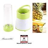 Rosenstein & Söhne Juice Maker: 2in1-Smoothie- & Standmixer mit Trinkbecher, BPA-frei, 500 ml, 400 W (Mini-Mixer)