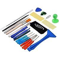 Mudder 22 in 1 Attrezzi Riparazione Cacciavite Kit per iPhone 6s/ 6s Plus/ 6/ 6 Plus, Samsung, HTC, iPad ( Colori Assortiti) - 22 Angle Pezzo