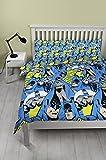 Batman-Bettbezugsset für Doppelbett, Wiederholungsdruck-Design