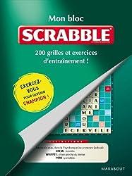 Mon bloc Scrabble© - 200 grilles et exercices d'entraînement